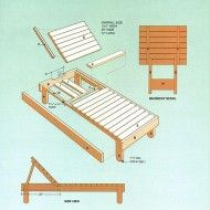 Wood Lounge Chairs diy wood chaise lounge chairs | lounge chair plans | free outdoor