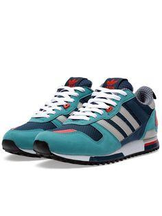 Zapatillas Adidas Originals ZX 700 Hombre Gasolina Oscuro   Cromo   Plata    Azul MarinoBAYoqn 31a8a9df95184