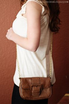 restyle old purses diy #2