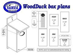 wood duck house plans | Nebraska Game and Parks Commission - Nest ...