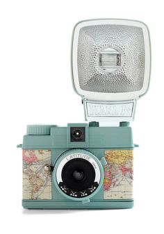 Diana Mini in Latitude by Lomography - Multi, Travel, Vintage Inspired - $110 on ModCloth.com