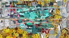 Massive Photo Collage Creatively Depicts Every Street Sign in Manhattan