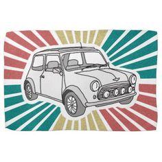 Mini car kitchen towel - simple gifts custom gift idea customize