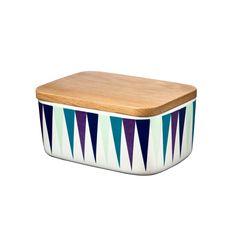 Butter Box, Harlequin, Blue