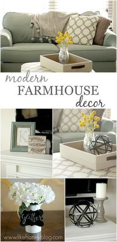 Like Honey: Modern Farmhouse Decor on a Budget   Cheap and affordable Fixer Upper style home decor from @gordmans! [sponsored]