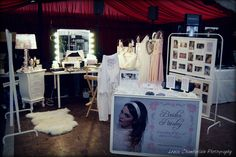 Bridal Boudoir make-up stand