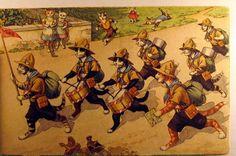 cat scout troop running
