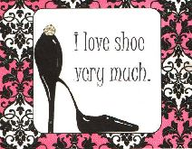 I love shoe very much