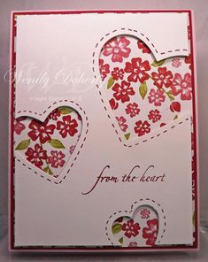 From the Heart by Wdoherty - Cards and Paper Crafts at Splitcoaststampers