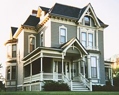 St Paul MN Folk Victorian  Here is another nice Victorian house I shot with a throw-away camera along Summit Avenue. This is actually one of the smallest and most modest homes along that near-legendary boulevard of Victorian houses – but unlike most of the others, this one has no trees in front of it!