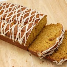 Pumpkin bread.  I'm hoping mine comes out as good as the pumpkin loaf at Starbucks.  It's my fav!