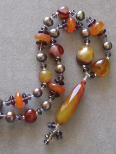 Bold+Agate+Necklace+by+sunrisetreasures+on+Etsy