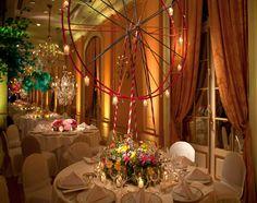 Decoración de mesas con flores naturales - Fotografia Eventia en exclusiva para CasarCasar
