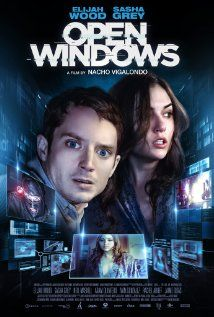 Open Windows on DVD January 2015 starring Elijah Wood, Sasha Grey, Neil Maskell, Nacho Vigalondo. Nick (Elijah Wood) is excited to discover that he's won a dinner date with his favorite actress, Jill Goddard (Sasha Grey). But when Jill re Elijah Wood, Films Hd, Hd Movies, Movie Tv, Watch Movies, Horror Movies, Movies 2014, Movies Free, Netflix Movies