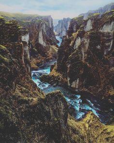 ITAP of Fjaðrárgljúfur Iceland by Vehshya . Beautiful Photos Of Nature, Amazing Nature, Beautiful Places, Beautiful Scenery, Amazing Places, Landscape Photography, Nature Photography, Travel Photography, Iceland Travel Tips