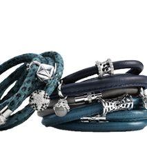 Leather bracelet - Svane & Lührs