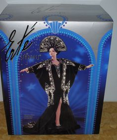 1996 Erte Stardust Porcelain BARBIE MINT New In The Box 2nd in Series