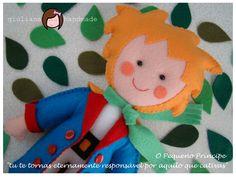 giuliana handmade: O Pequeno Príncipe em Feltro