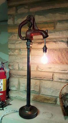 Custom lamp Created by Atomic Vault 9 See etsy/Facebook