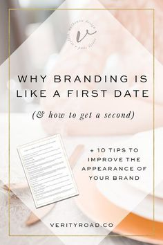 Branding is like a first date; making impressions, sharing your message. Female entrepreneurs, business owners, creatives and bloggers, read this post about how to improve your branding with a free download. Build a strong, beautiful brand, reach your ideal clients, grow your social media following and get more clients. Business advice, business tips, business resources.