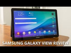 Samsung Galaxy View Review - http://techlivetoday.com/android-tablet-reviews/samsung-galaxy-view-review/