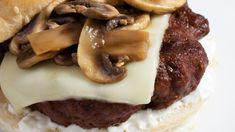 Rezept: Feiner Pilz-Burger mit Trüffel-Aioli vom Grill