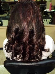 From bright red to dark cherry coke ... The new color..