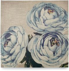 Graham and Brown Teal Floral Trio Wall Art