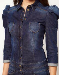 Miss Sixty - Combinaison en jean