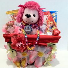 Kids Gift Basket For Kids Ages 5 to 9 www.etsy.com/shop/veramaecollection Kids Gift Baskets, Gifts For Kids, Unique Gifts, Teddy Bear, Teen, Anime, Handmade, Gift Ideas, Shop