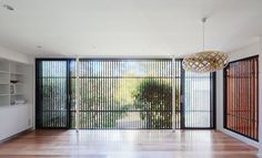 Architecture, Green renovation, natural light, green architecture, sydney, green renovation, green veranda, Gallery, carousel showcase, built-in furniture, pendant light, Bijl Architecture, suburban house, Escu House, timber balustrades