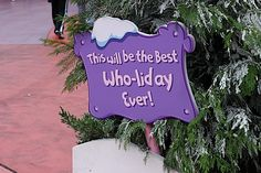 whoville grinch d r seuss christmas decorating porch Whoville Christmas Decorations Grinch Christmas Party, Grinch Who Stole Christmas, Grinch Party, Office Christmas, Christmas Signs, Holiday Fun, Christmas Holidays, Christmas Yard, Holiday Ideas