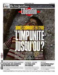 Le journal de BORIS VICTOR : à lire sur Libération - mardi 10 avril 2018