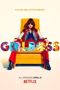 GirlBoss (Netflix-April 21, 2017) a comedy series created by Kay Cannon. Sophia, a young woman discovers a passion for fashion. In the process, she becomes a businesswoman, and must balance the process of work, and her personal life. Stars: Britt Robertson, Ellie Reid, Jimmy Simmons, and others.