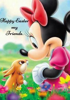 Happy Easter - Minnie Mouse