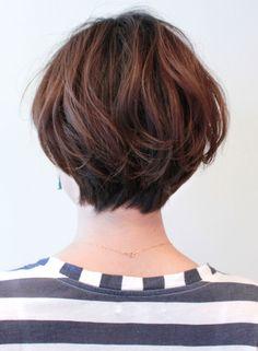 Short Sassy Haircuts, Choppy Bob Hairstyles, Cute Hairstyles For Short Hair, Curly Hair Styles, Short Thin Hair, Short Hair Cuts, Cut My Hair, New Hair, Japanese Haircut Short