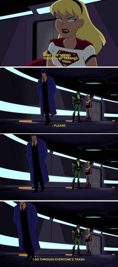 Question doesn't play favorites. | 22 Times The Justice League Proved Their Superpower Is Sass