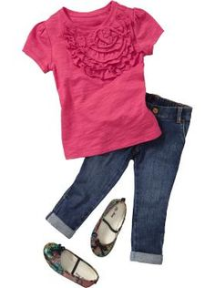 Toddler Girl Clothes: Outfits We Love | Old Navy.. The Skinny jeans are a definite yes!