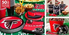 NFL Atlanta Falcons Party Supplies