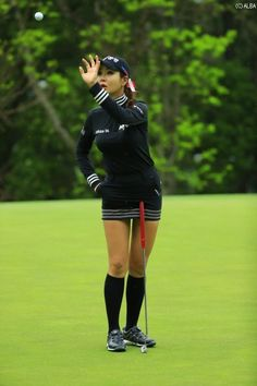 Like some other sport, golf requires players to wear proper golf attire, including ladies golf attire for women golfers. Most golf courses require dress codes, strictness of observance that varies on Girl Golf Outfit, Cute Golf Outfit, Womens Golf Wear, Womens Golf Shoes, Girls Golf, Ladies Golf, Women Golf, Lpga Golf, Golf Outing