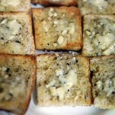 A mixture of butter, mayonnaise, garlic, sage and oregano is spread on a baguette. Lightly toast the baguette under the broiler, and enjoy with any meal!