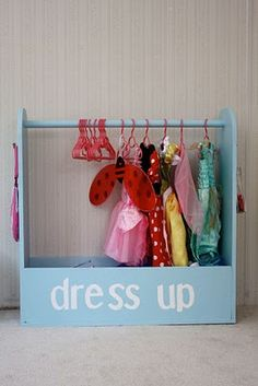 dress up storage and box