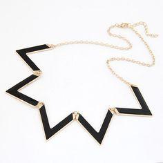 Barato 2014 New Design Top Quality clássico na moda mulheres declaração de Metal colar pingente geométrica acessórios exagerados jóias, Compro Qualidade Colares com pingente diretamente de fornecedores da China: