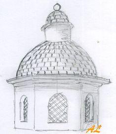 cropped-cupula-04-1600& Nativity, Taj Mahal, Scenery, Building, Sketchbooks, Fairy, Garden, Tutorials, Wood Store