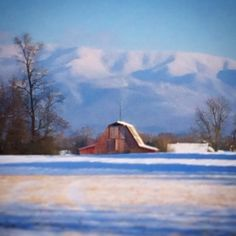 Another beautiful winter afternoon in Greeneville, TN