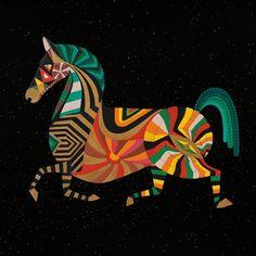 Zodiac Horse by Thailan on Etsy