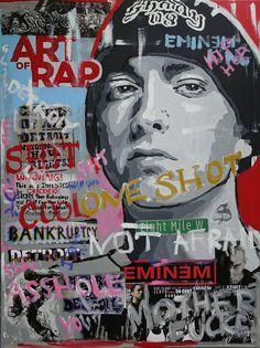Eminem Collage by Wojtek Bąbski Eminem Rap, Eminem Quotes, Eminem Music, Rap Quotes, Lyric Quotes, Wisdom Quotes, Arte Do Hip Hop, Hip Hop Art, Eminem Poster
