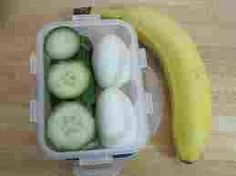 Whole30 Day Three Breakfast: 3 Boiled Eggs 1/2 Cucumber  1 Banana  Didn't eat all the cucumber.. Saved it for lunch. Feeling okay. Headaches wee bad Monday and Tuesday. Today is much better.