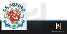 Logo design for CS Kokoro Botosani.