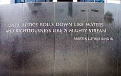 Martin Luther King quotes, Until justice rolls down like waters. Great Quotes, Me Quotes, Martin Luther King Quotes, We The Kings, Interesting Quotes, Speak The Truth, King Jr, Organising, Beautiful Words